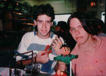 Steve (left) and I 1987