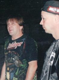 Scott (left) and Pete